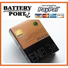 ORIGINAL NIKON BATTERY [EN-EL3E] [ENEL3E]